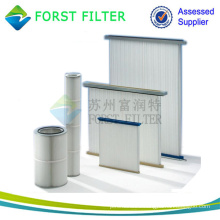 FORST Industrial Panel Pleat Air Filter Supply For Dust Collector