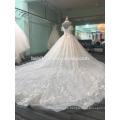 Zhongshan halter cap sleeve wedding dress bridal gowns 2017