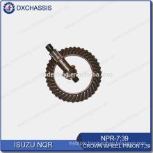 Genuine NQR 700P Crown Wheel Pinion Gear 7:39 NPR-7:39