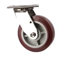 Тяжелый поворот и фиксированная работа с PU-колесом