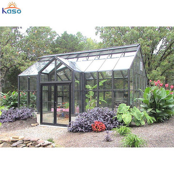 Sunroom House Winter Prefabricated Glass Room for Garden
