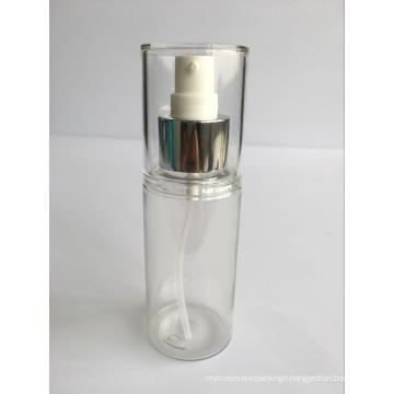 80ml Heavy Walled Pet Lotion Bottle W/ Over Cap (EF-PL09080)