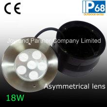 24VDC 18W Lumières de piscine encastrées asymétriques (JP-94762-AS)