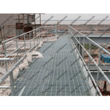Grades de aço para serviços pesados, galvanizado por imersão a quente para evitar ferrugem