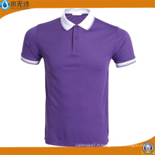 Gros hommes Sport Wear Polo Shirt Coton T-Shirts Casual