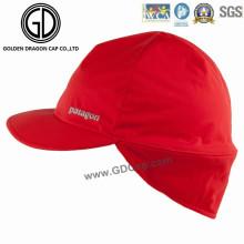 2016 High Quality Waterproof Polyester Earflap Cap / Sports Racing Cap