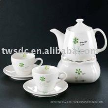 Porcelana China y cerámica personalizada tazas de juego de té-092