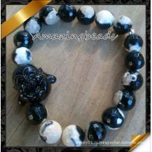 Черный агат Будды Браслеты ювелирные изделия (CB071)