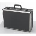Caja de aluminio negra médica para equipos médicos