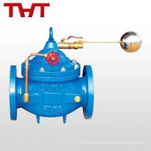 Válvula de control del nivel del agua de bola flotante controlada remotamente automática del hierro dúctil