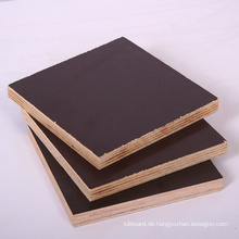 18mm schwarze Farbe Film konfrontiert Sperrholz mit gutem Preis