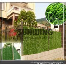 на открытом воздухе искусственная искусственная зеленая трава хедж