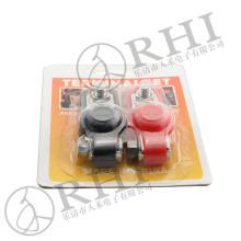 grampo de jacaré de aço resistente da bateria de carro do conector de cabo steel-1 competitivo