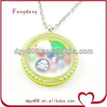Wholesale colar de acrílico medalhão
