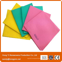 Needle Punched Nonwoven Fabric Cleaning Cloth, Viscose and Polyester Fabric Cloth