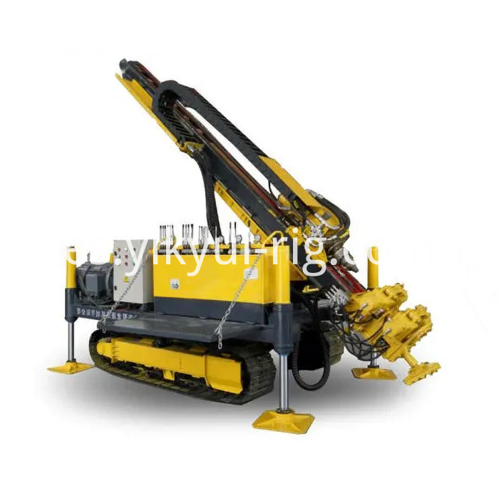 96kw Crawler Mounted Jet Grouting And Anchor Drilling Rig For Engineering Construction 7
