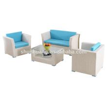 Garden PE rattan furniture hot sale poolside wicker sofa