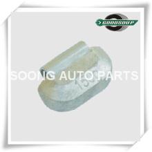 Grampo não revestido ou revestido da ligação (PB) em pesos da roda para o caminhão pesado, tipo universal, qualidade super