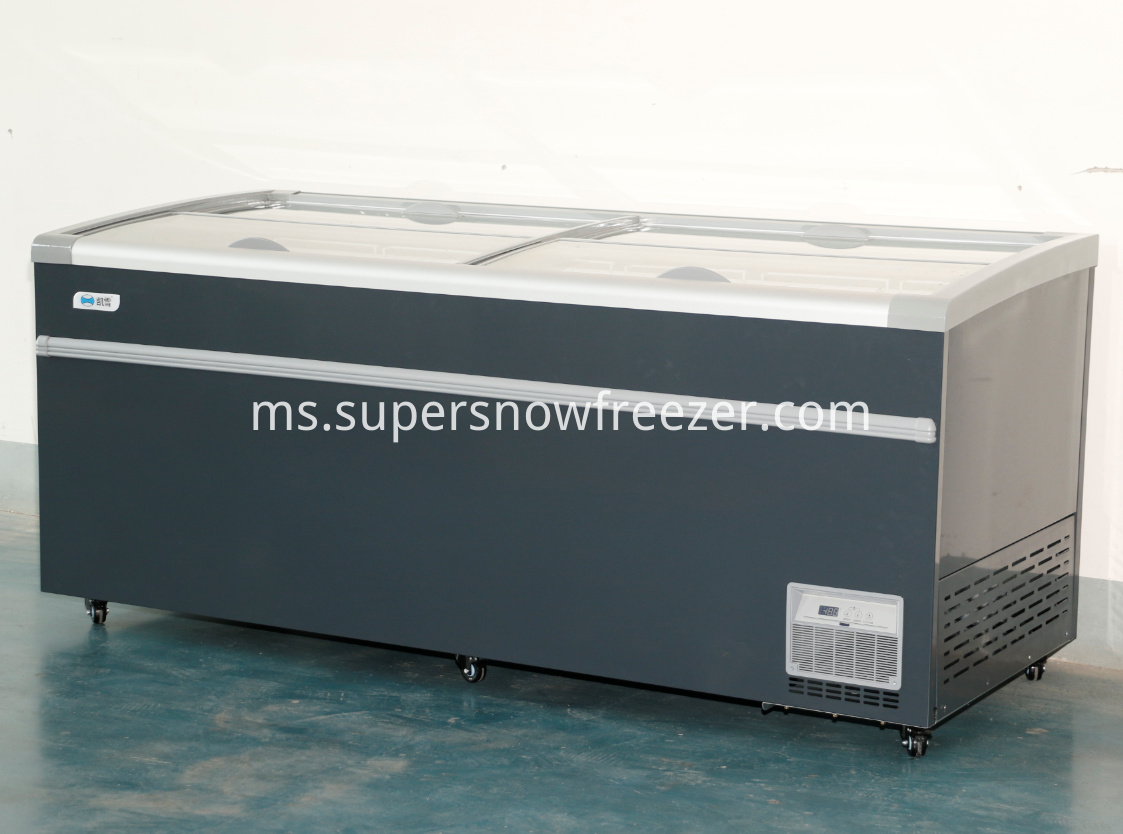 Display Refrigerator Freezer