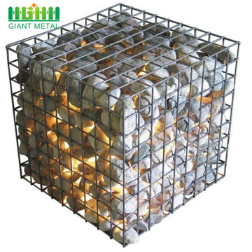 Double Twist Heavy Galvanized Woven Gabion Basket