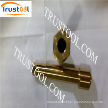 Precise Brass Knurled Inserts Lathe Turning Parts