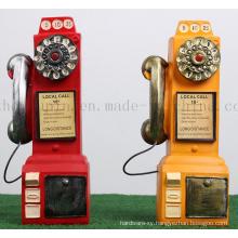 OEM Resin Classical Phone Design Saving Money Box for Promotion