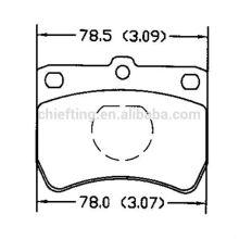 D402 KK150-33-23Z for Kia korean brake pads