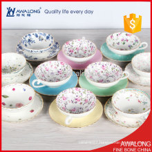 floral tea cup set / porcelain Tea Set / Japanese style tea set with cheap price