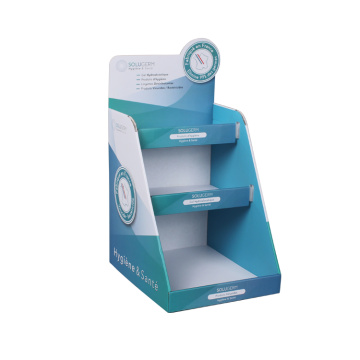 APEX Multi Purpose 4-Tier Cardboard Display Blau