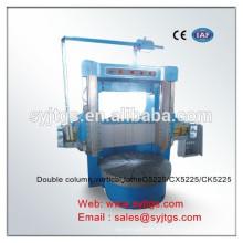 Tour CNC double colonne verticale C5232CX5232CK5232 en stock