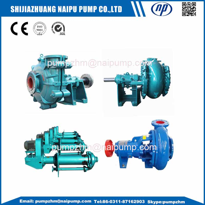 020 AH expeller seal slurry pump