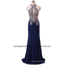 Luxury Handmade Appliqué Robes Evening Dress Elegant Ball Gown