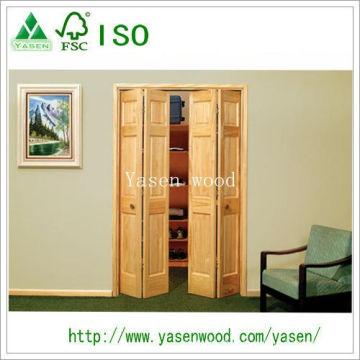 Family Style Customized Pine Wooden Door
