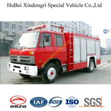 Camión de bomberos opcional de la espuma del agua de 6ton Dongfeng Tianjin Euro3