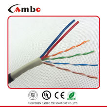 net cable cat 6 with electrical cable