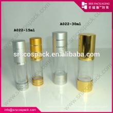 200ml clara cosméticos Alu Airless bomba garrafa