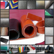 All Kinds of Patterns Colorful Non Slip Rubber Sheet / Mat