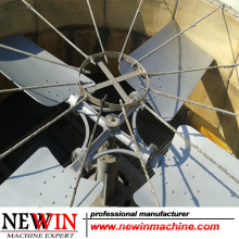 Ventilador da torre refrigerando Liga de alumínio / aço inoxidável / ABS / FRP