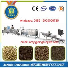 250kg per hour dry type fish food extruder machine