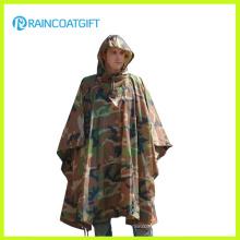 Durabilité Army Camouflage Rain Poncho Rpy-019