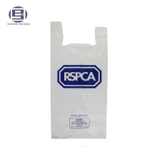 Charity biodegradable t-shirt bags for animals