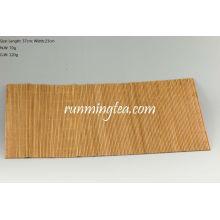 Estera de bambú cruda para la tabla de té, 37 * 23cm