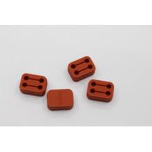 Kundenspezifischer geformter Silikon-Gummipuffer-Block