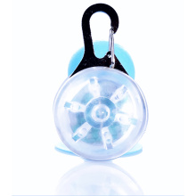Collier de chien d'étiquette d'animal familier du pendant d'étiquette de chien de LED