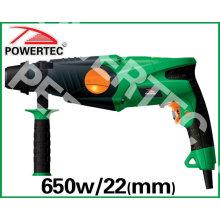 Broca de martelo de 650W de 22mm (PT82541)