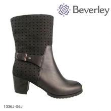 cheap wholesale boots manufacture price plus size mid heel ladies shoes