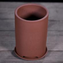 Pot de fleur de sable violet bassin rond de pot de fleurs