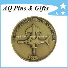 Factory Sale Unique Commemorative Metal Antique Copper Coin (coin-080)