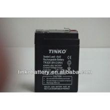 Good quality TINKO 6v lead acid motorcycle battery