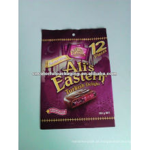 Flexible printing and lamination chocolate cookies packaging bags